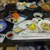 萩観光ホテル ラウンジ - 料理写真:夕食