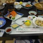 萩観光ホテル - 料理写真:夕食