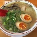七福亭 - 煮玉子ラーメン500円