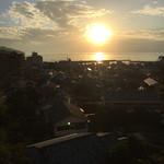 Gyokushouenarai - 駿河湾に沈む夕日