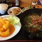 台湾料理 鴻翔 - 海老マヨ定食