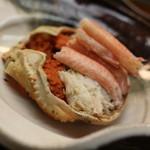 つる由 - 料理写真:新潟の香箱蟹