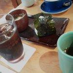 甘味喫茶 おかげ庵 - アイスコーヒーセット