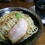 31933334 - 黒醤油つけ麺