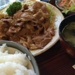 31933677 - 豚肉生姜焼き定食(880円)