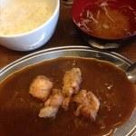 釧路食堂 - ザンギカレー
