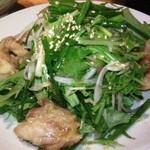 31935003 - 香味野菜と鶏もも肉の甘酢