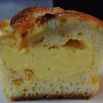 レ・ミュウ - オレンジマカロンのクリームパン 195円