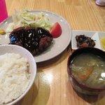 案山子 - ミンチカツ定食¥700