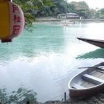 琴ケ瀬茶屋 - お店からの風景