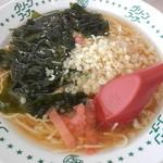 グリーンコーナー - 料理写真:てんかけラーメン大盛   ¥416