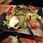 31939138 - 豆腐と湯葉のサラダ