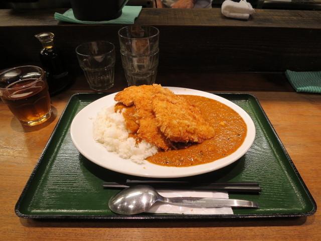 焼とり鶏梵梵 恵比寿 - 鶏カツカレー 並