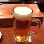 小西鮨 - ビール