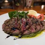 トラットリア・フランチェスカ - 和牛もも肉のグリル