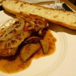 ペシェグラン - ランチBコース ¥1400+税 メインの肉料理