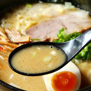 麺は残してもスープは飲んでください。唯一無二の俺のスープ
