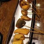 串とんぼ - 串揚げ10本盛り