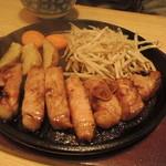 豊 - 厚切りポークソテー2014.10