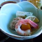 おけしょう鮮魚の海中苑 - 小鉢♪