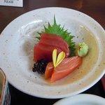 花ごよみ - 天ぷら御膳の お刺身