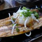 せら庵 - 開秋刀魚の焼き物