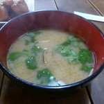 せら庵 - 浅利の味噌汁