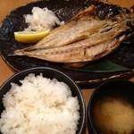 31951660 - 焼き魚定食(鯵の開き)