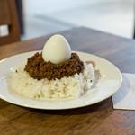 HAGI CAFE  - 半熟玉子のキーマカレー