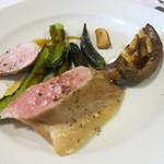 ダルソウシ - スペインバスク豚ローストと椎茸