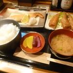 31956306 - 日替わ焼き魚とお番菜「鮭ハラス焼 (780円)」