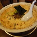 2代目哲麺 - 「豚骨醤油味玉ラーメン (620円)」
