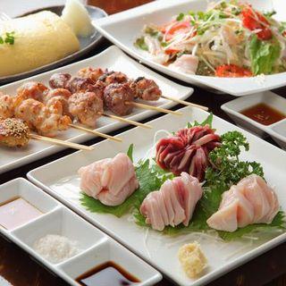 素材の味を楽しむ料理で名古屋コーチンを堪能!