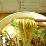中華そばそのだ - 麺リフト~