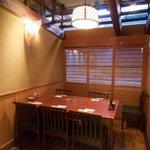 亀戸升本 - テーブル席