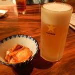 暖団家 - 生ビールとキムチ
