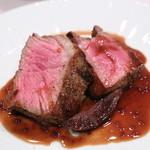 OGINO Red&Green Restaurant - 牛肉のステーキ