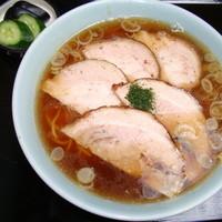 伊勢屋食堂 - 麺メニュー(木~土) チャーシュー麺