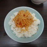 武蔵家 - 「武蔵家 川口店」ライスとの相性も抜群!!