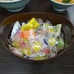 武蔵家 - 「武蔵家 川口店」女性には飴ちゃんサービスが・・・