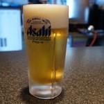 味世司 - ビール 560円