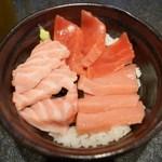 味世司 - 本鮪三色丼