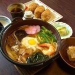 うどん坊 - 料理写真:寒い季節にピッタリ!     鍋焼きセット