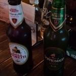 バール トゥッティ ドゥーエ - ビール2種