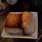 バール トゥッティ ドゥーエ - 通しもパンでした!めっちゃ美味しいです!!
