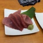 魚介 - マグロ三種盛599円(税別)