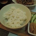 31973294 - 蕎麦の実の炊き込みご飯
