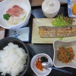 弥助寿司 - 太刀魚の塩焼き定食