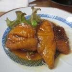 弥助寿司 - 昼定 平目・鯛の揚げ煮