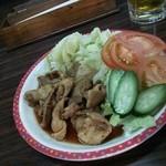ホルモン道場 - 料理写真:豚蒲焼定食